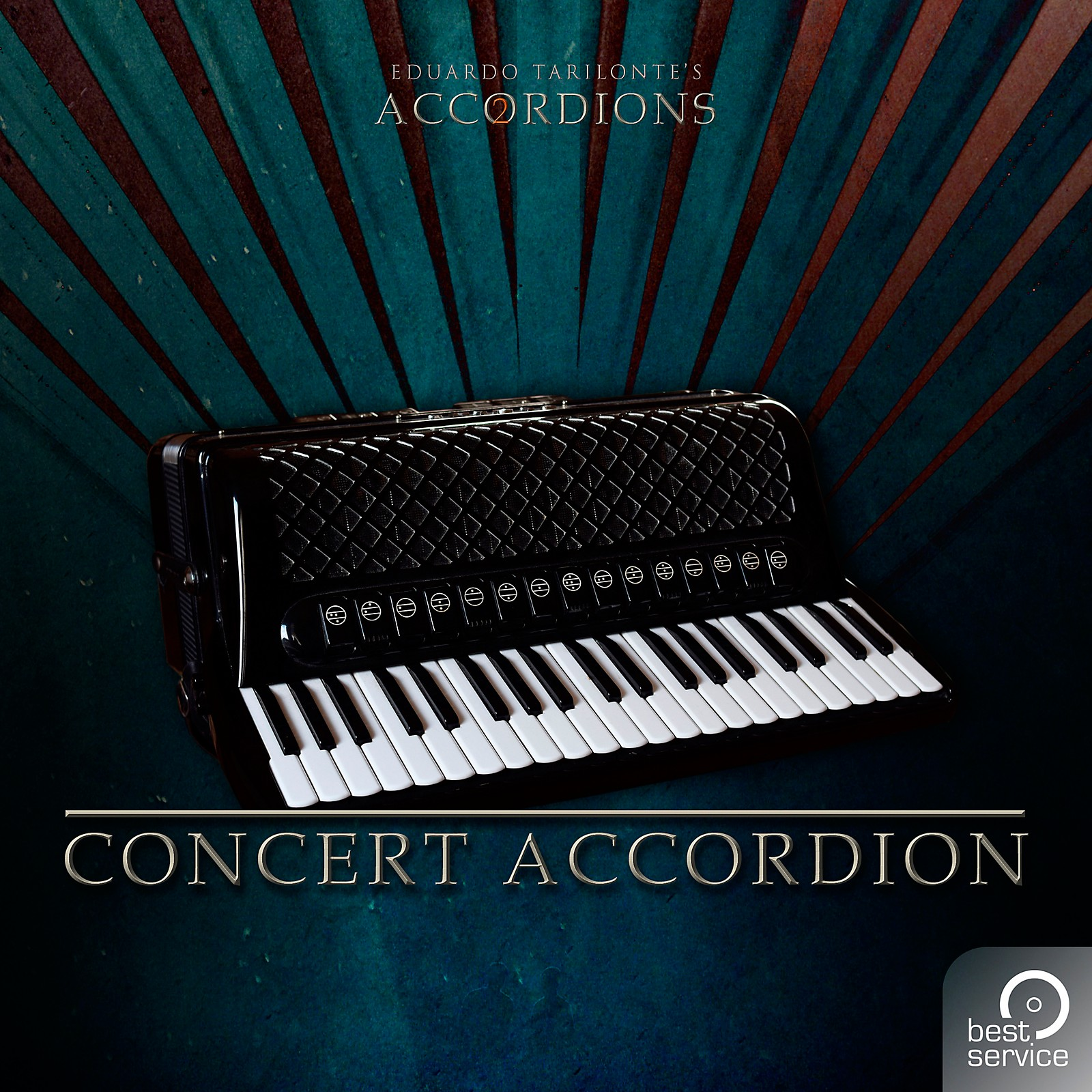 Best Service Accordions 2 - Single Concert Accordion