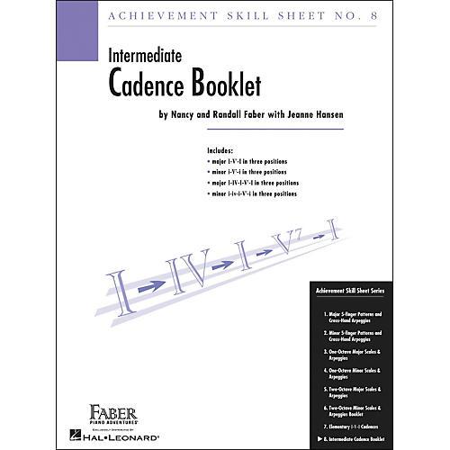 Faber Piano Adventures Achievement Skill Sheet No.8: Cadence Booklet - Faber Piano