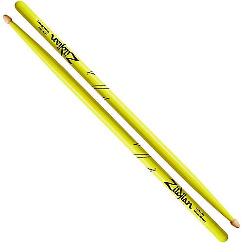 Zildjian Acorn Tip Neon Yellow Drumsticks