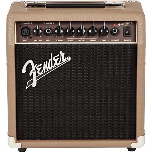 Fender Acoustasonic 15 Acoustic Combo Amp Tan