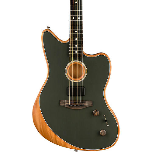 Fender Acoustasonic Jazzmaster Acoustic-Electric Guitar Tungsten