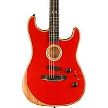 Acoustasonic Stratocaster Acoustic-Electric Guitar Dakota Red