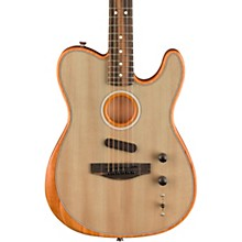 Purposeful Fender American Acoustasonic Telecaster Acoustic Electric Guitar Surf Green Novel In Design;