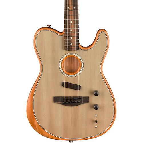 Fender Acoustasonic Telecaster Acoustic-Electric Guitar