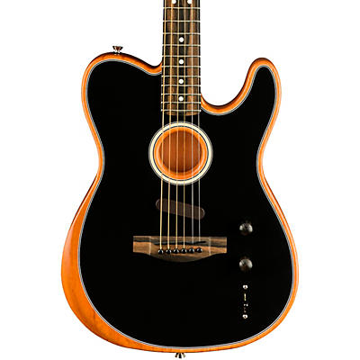 Fender Acoustasonic Telecaster Ebony Fingerboard Acoustic-Electric Guitar