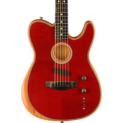 Fender Acoustasonic Telecaster Ebony Fingerboard Acoustic-Electric Guitar