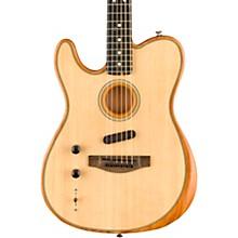 Fender Acoustasonic Telecaster Left-Handed Acoustic-Electric Guitar