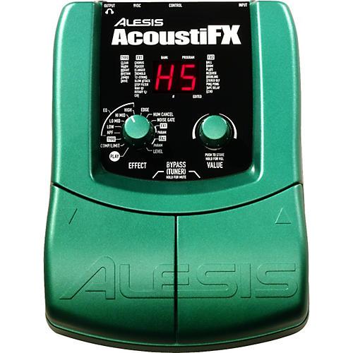 Alesis AcoustiFX Acoustic Guitar Multi-Effects Pedal
