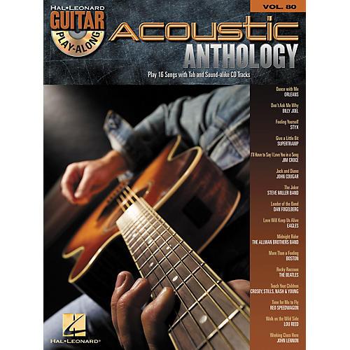 Hal Leonard Acoustic Anthology - Guitar Play-Along, Volume 80 (Book/CD)