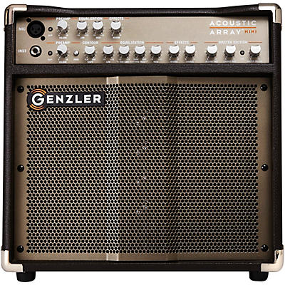 Genzler Amplification Acoustic Array Mini AA-MINI 100W 1x8 With 4x1.5 Line Array Acoustic Guitar Combo Amp