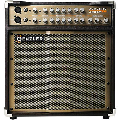 Genzler Amplification Acoustic Array PRO 300W 1x10 with 4x3 Line Array Acoustic Guitar Combo Amp