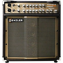 Open BoxGenzler Amplification Acoustic Array PRO 300W 1x10 with 4x3 Line Array Acoustic Guitar Combo Amp