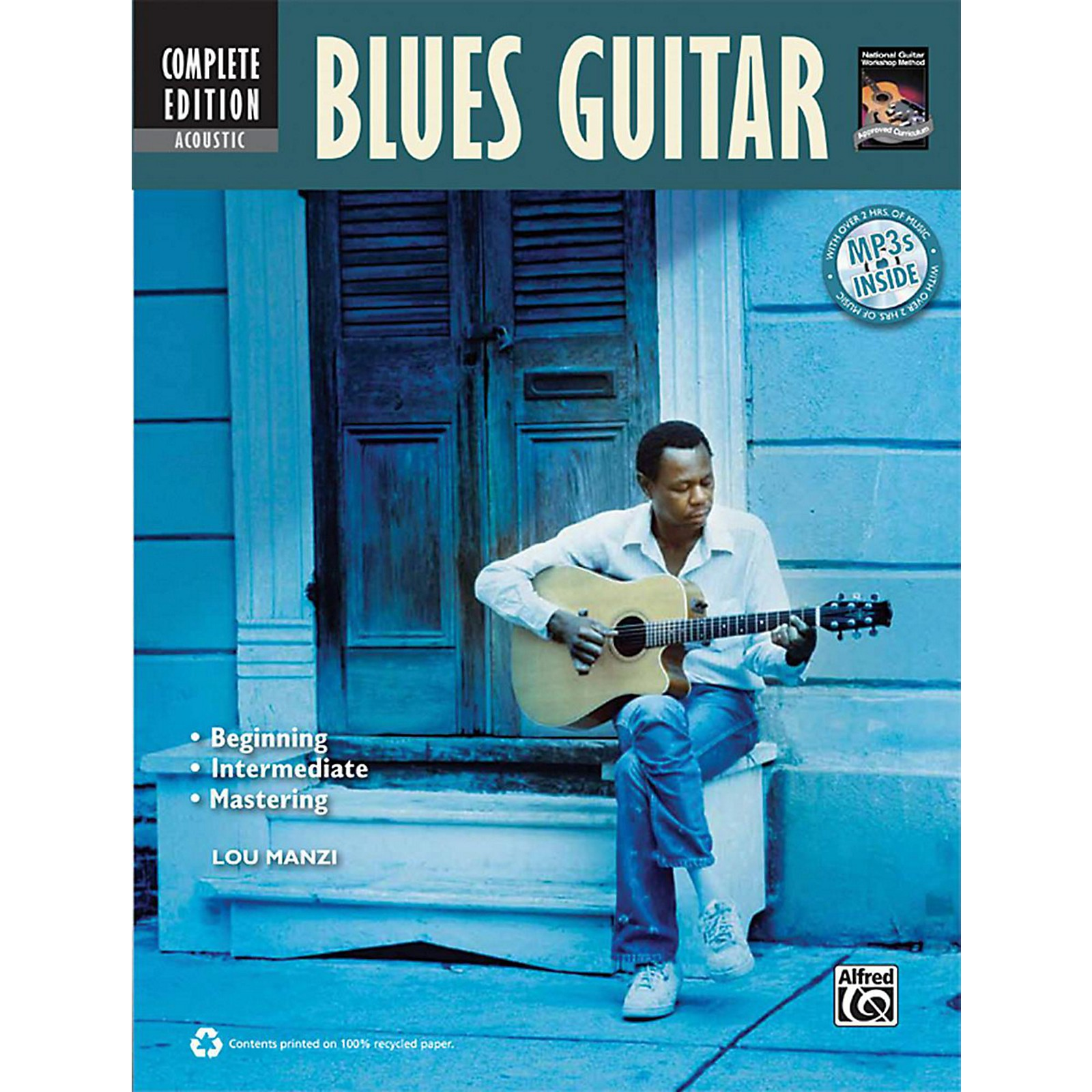 Alfred Acoustic Blues Guitar Method Complete Book with CD/DVD