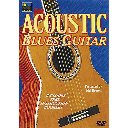 Music Sales Acoustic Blues Guitar Music Sales America Series DVD Written by Mel Reeves