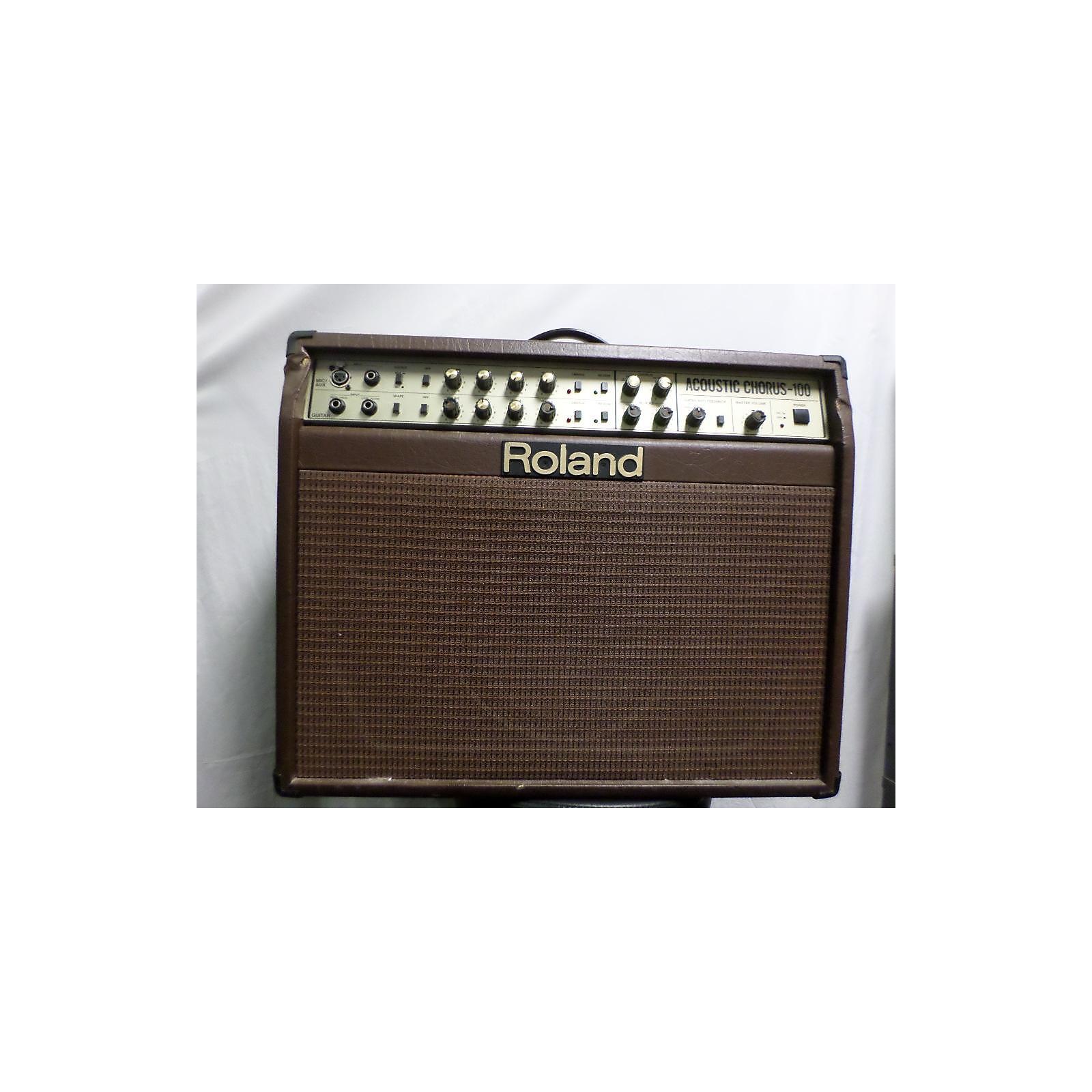 Roland Acoustic Chours 100 Acoustic Guitar Combo Amp