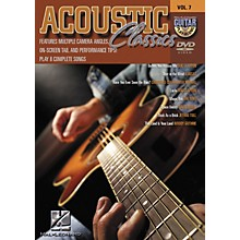 Hal Leonard Acoustic Classics - Guitar Play-Along Volume 7 (DVD)