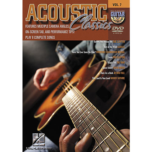 Hal Leonard Acoustic Classics - Guitar Play-Along Volume 7 (DVD)