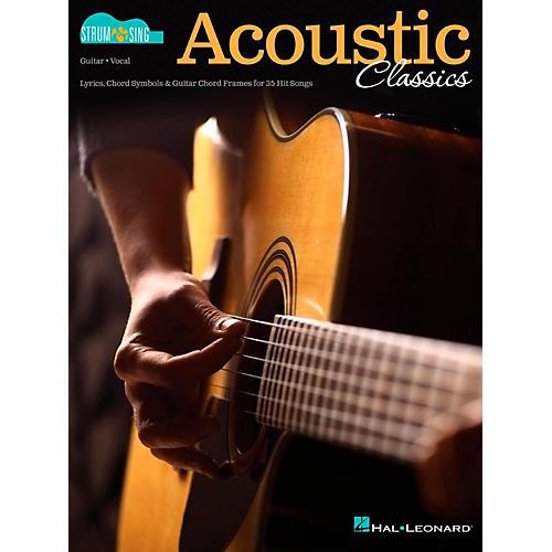 Hal Leonard Acoustic Classics - Strum & Sing Series for Guitar