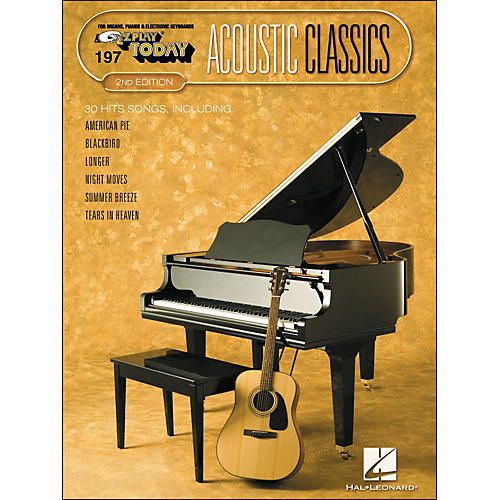 Hal Leonard Acoustic Classics 2nd Edition E-Z Play 197