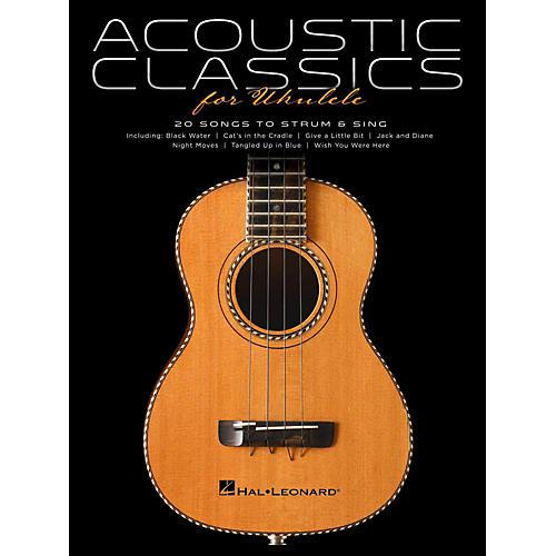 Hal Leonard Acoustic Classics For Ukulele