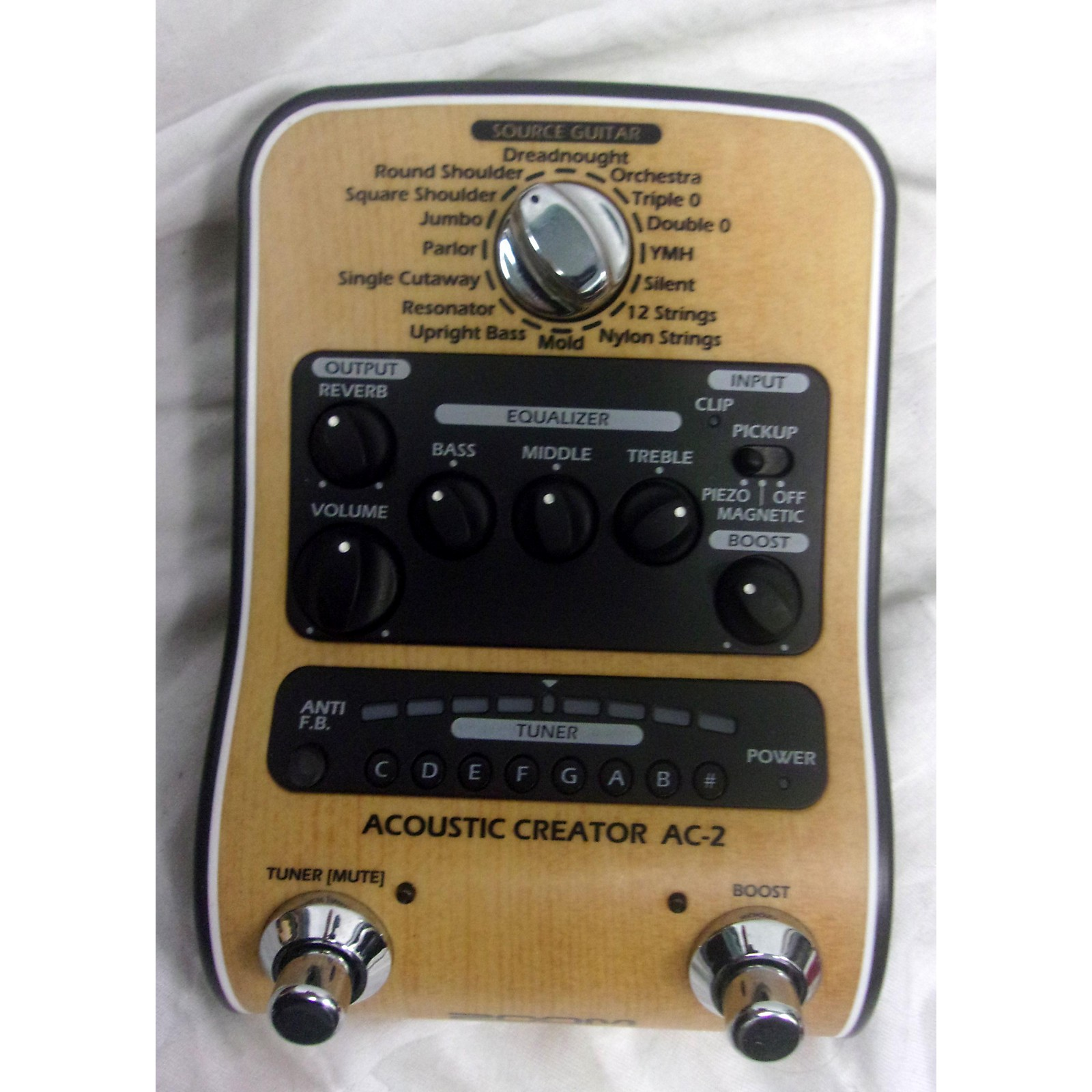 Zoom Acoustic Creator Effect Processor