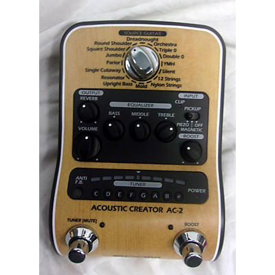 Zoom Acoustic Creator Effect Processor