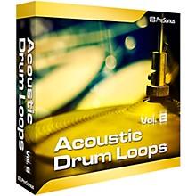 PreSonus Acoustic Drum Loops Vol. 2 - Stereo Software Download