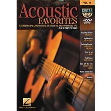 Hal Leonard Acoustic Favorites - Guitar Play-Along DVD Volume 17