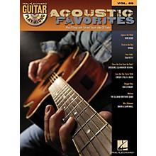 Hal Leonard Acoustic Favorites - Guitar Play-Along Series Volume 69 Book and CD