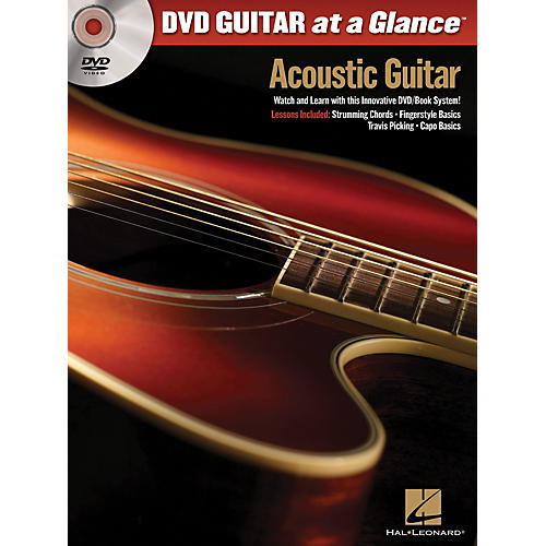 Hal Leonard Acoustic Guitar - At a Glance Series Book and DVD