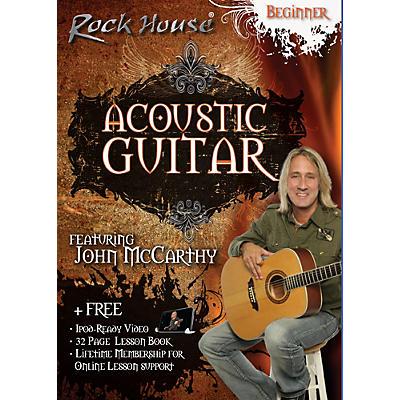 Rock House Acoustic Guitar Beginner DVD