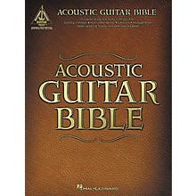Hal Leonard Acoustic Guitar Bible Tab Songbook