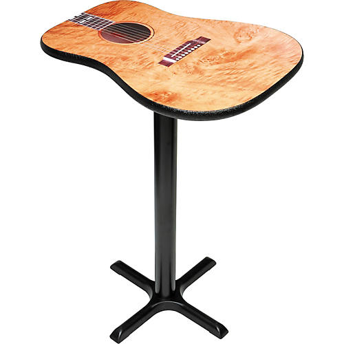 Designer Creation Acoustic Guitar Cocktail Table