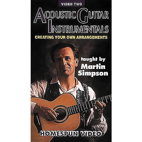 Homespun Acoustic Guitar Instrumentals 2 (VHS)
