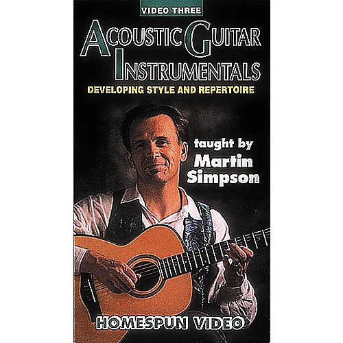 Homespun Acoustic Guitar Instrumentals 3 (VHS)