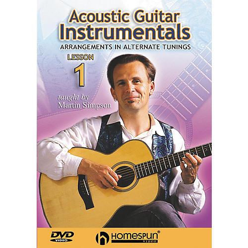 Homespun Acoustic Guitar Instrumentals DVD One: Arrangements in Alternate Tunings
