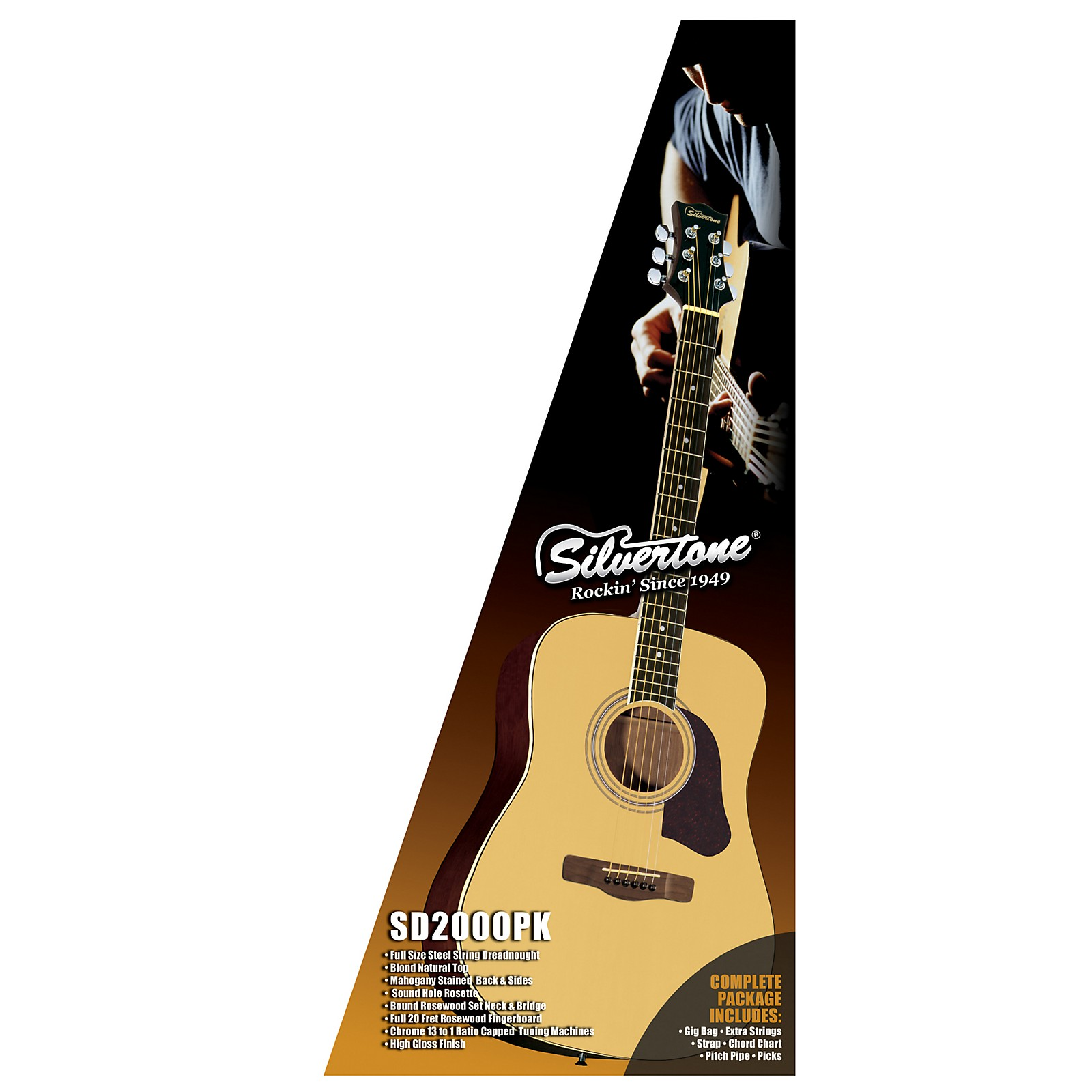 Silvertone Acoustic Guitar Pack