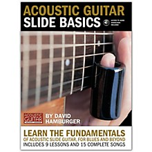 String Letter Publishing Acoustic Guitar Slide Basics (Book/Online Audio)