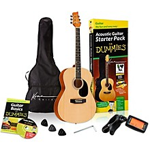 Open Box For Dummies Acoustic Guitar Starter Package
