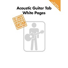 Hal Leonard Acoustic Guitar Tab White Pages Songbook