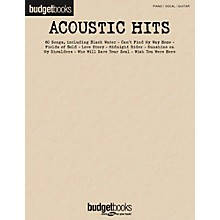 Hal Leonard Acoustic Hits - Budget Book