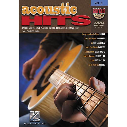 Hal Leonard Acoustic Hits Guitar Play-Along DVD Volume 3