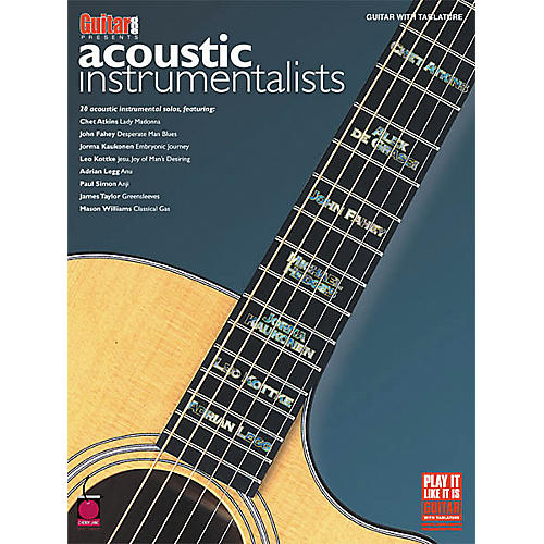 Cherry Lane Acoustic Instrumentalists Book)