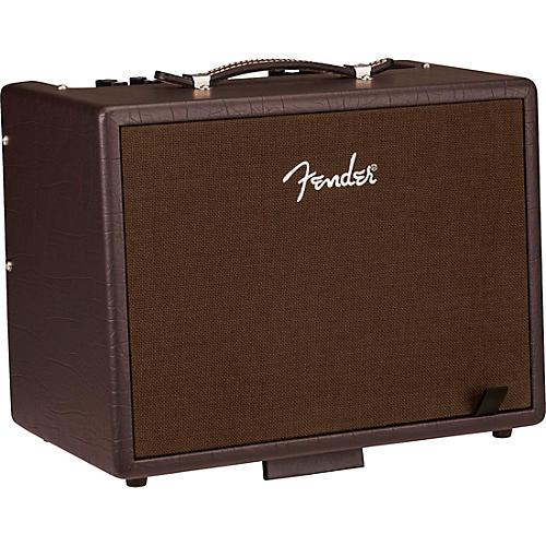 Fender Acoustic Jr 100W 1x8 Acoustic Guitar Combo Amplifier Dark Brown Vinyl