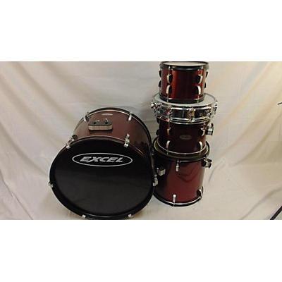 Excel Acoustic Kit Drum Kit