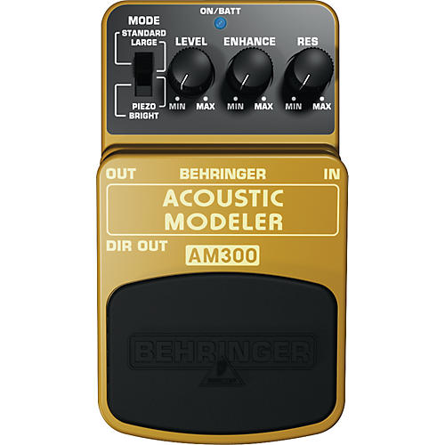 behringer acoustic modeler am300 guitar effects pedal musician 39 s friend. Black Bedroom Furniture Sets. Home Design Ideas