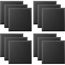 Ultimate Acoustics Acoustic Panel - 24x24x2 Bevel (12 Pack)