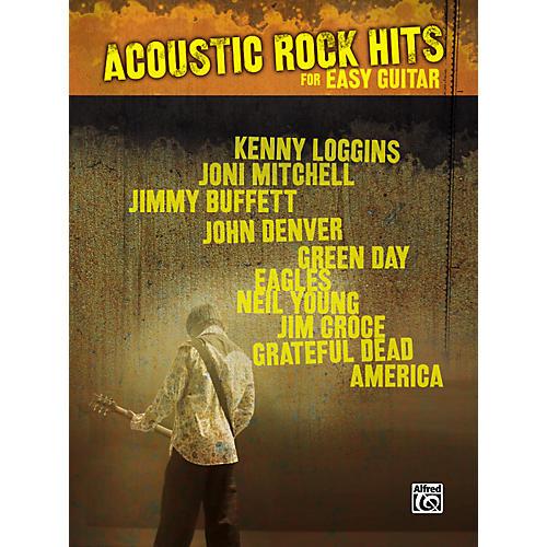 Hal Leonard Acoustic Rock Hits Easy Guitar Tab Songbook