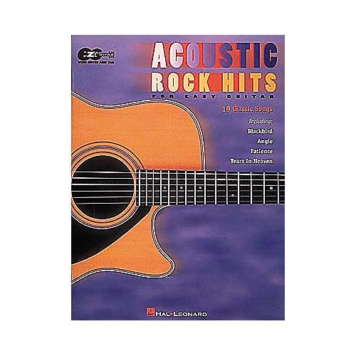 Hal Leonard Acoustic Rock Hits for Easy Guitar Book