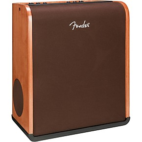 fender acoustic sfx 160w stereo acoustic guitar combo amplifier with hand rubbed cinnamon finish. Black Bedroom Furniture Sets. Home Design Ideas